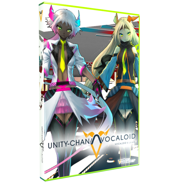 VOCALOID4版unity-chan! リリース!