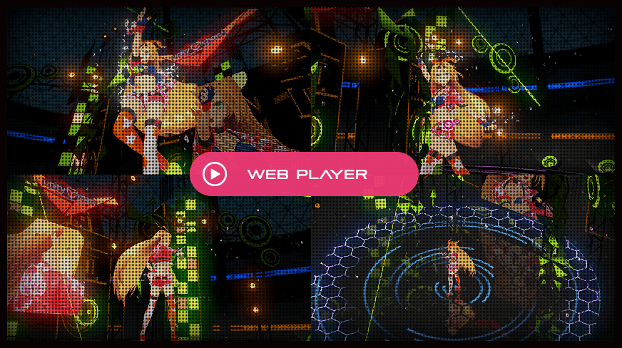 Unity Web Playerで再生